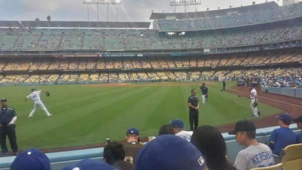 Dodger Stadium, section: 53FD, row: D, seat: 5