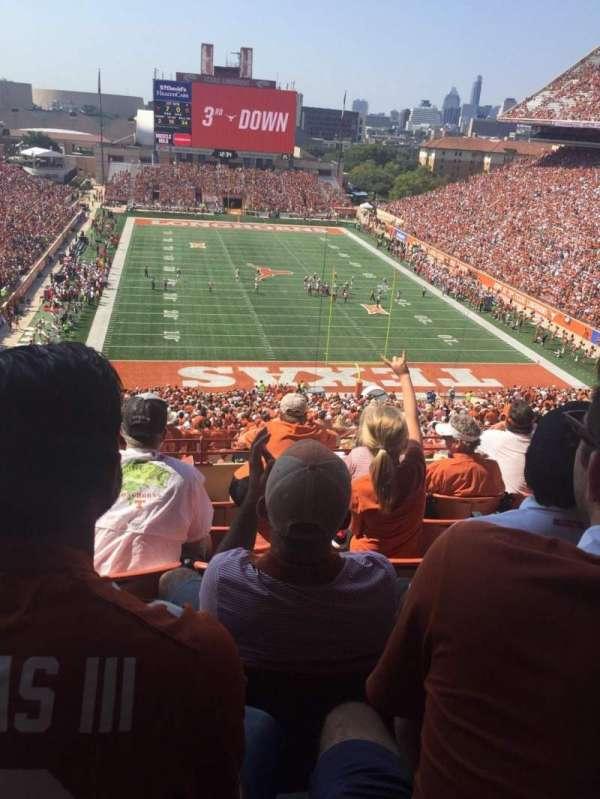 Texas Memorial Stadium, section: 17C, row: 6, seat: 11