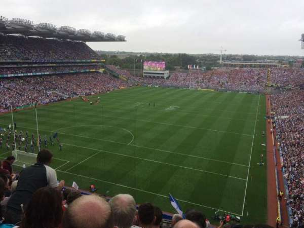 Croke Park, section: 715, row: H, seat: 16