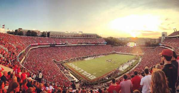 Sanford Stadium, section: 314, row: 14, seat: 4
