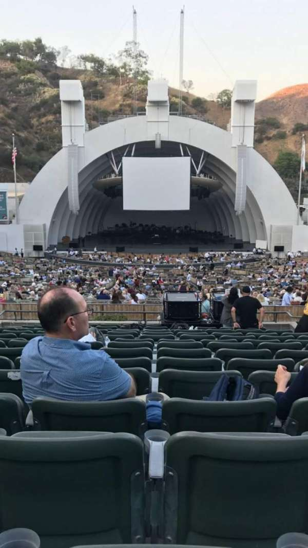 Hollywood Bowl, section: H, row: 15, seat: 108