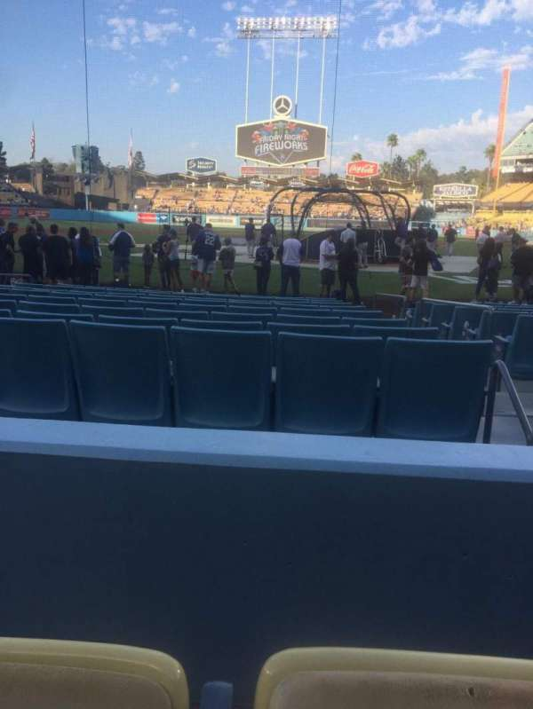 Dodger Stadium, section: 5FD, row: B, seat: 8