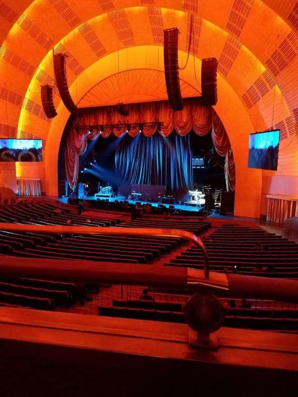 Radio City Music Hall, section: 1st Mezzanine 1, row: BB, seat: 110