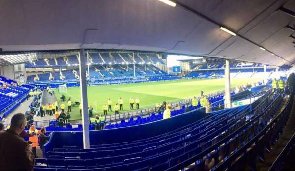 Goodison Park, section: LV1, row: K, seat: 24