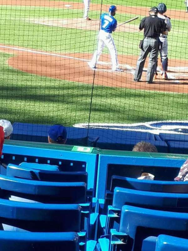 Rogers Centre, section: 122L, row: 11, seat: 107
