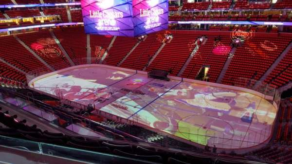 Little Caesars Arena, section: M24, row: 5, seat: 1