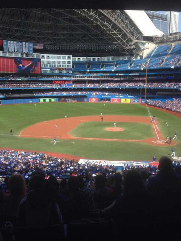 Rogers Centre, section: 228R, row: 12, seat: 4