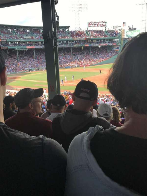 Fenway Park Section Grandstand 12 Home Of Boston Red Sox