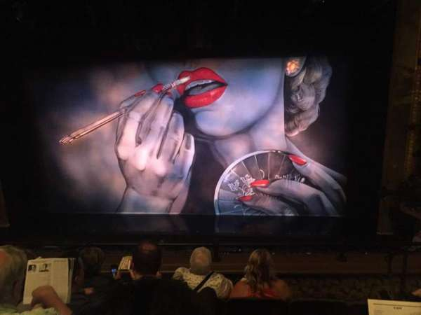 Nederlander Theatre, section: Mezzanine C, row: E, seat: 111
