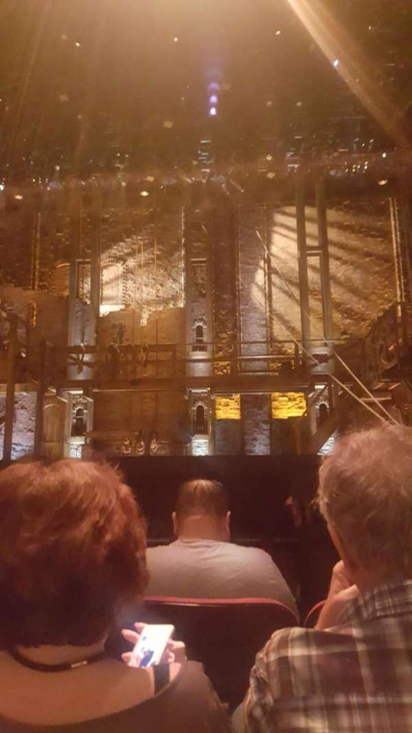 Hollywood Pantages Theatre, section: OrchCenter, row: C, seat: 106