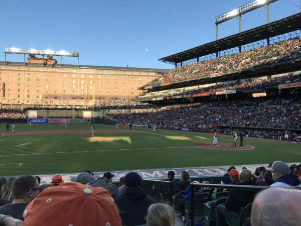 Oriole Park at Camden Yards, section: 52, row: 8, seat: 2