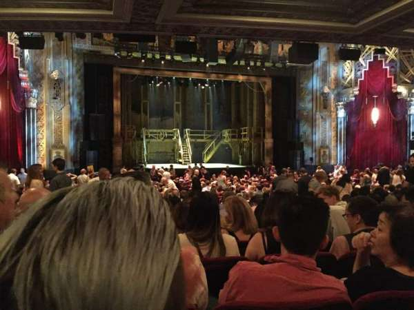 Hollywood Pantages Theatre, section: Orchestra LC, row: SS, seat: 305
