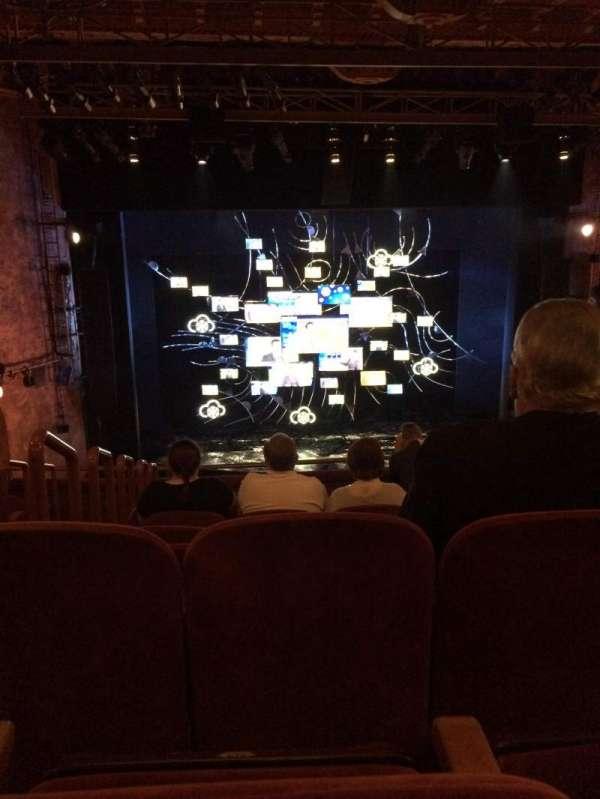 August Wilson Theatre, section: MEZZC, row: H, seat: 114