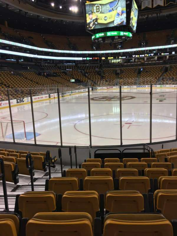 TD Garden, section: Loge 6, row: 10, seat: 17