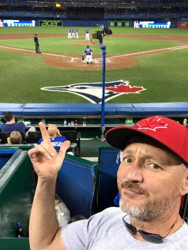 Rogers Centre, section: 122, row: 8, seat: 104