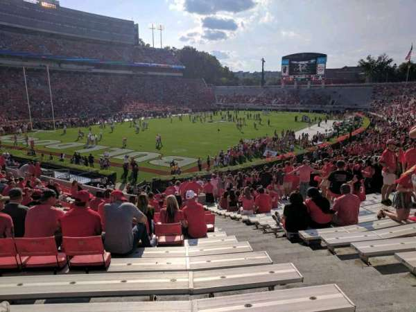 Sanford Stadium, section: 115, row: 32, seat: 3