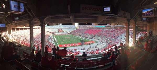 Ohio Stadium, section: 4B, row: 10, seat: 15