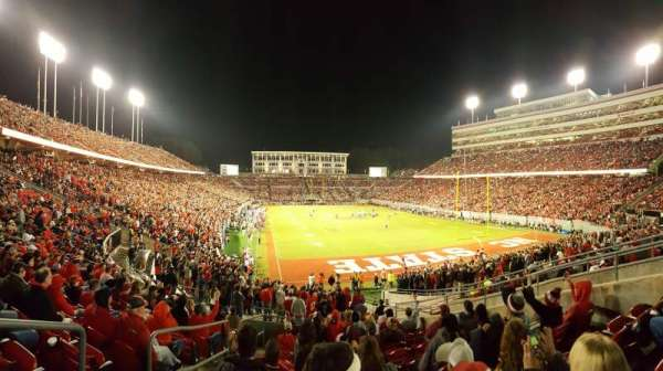 Carter-Finley Stadium, section: 224, row: K