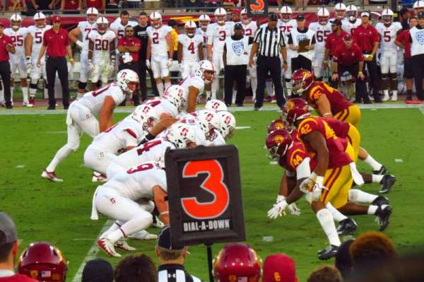 Los Angeles Memorial Coliseum, section: 122A, row: 7, seat: 12