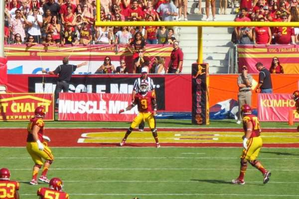 Los Angeles Memorial Coliseum, section: 114, row: 30, seat: 5