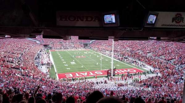 Ohio Stadium, section: 4B, row: 12, seat: 5