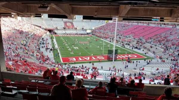 Ohio Stadium, section: 4B, row: 12, seat: 6