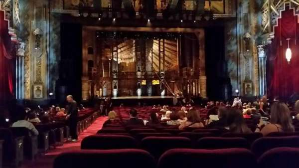 Hollywood Pantages Theatre, section: Orch, row: PP, seat: 113