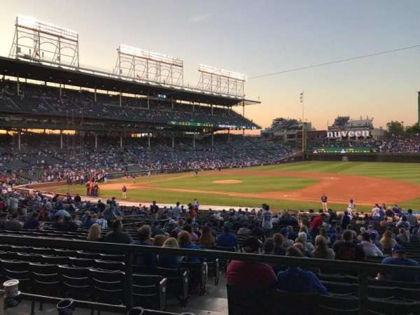 Wrigley Field, section: 226, row: 3, seat: 8