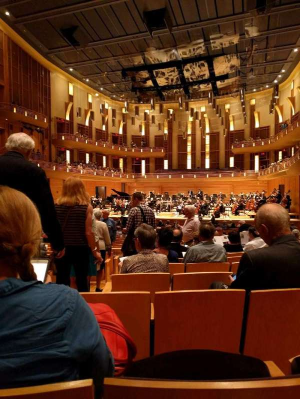 The Music Center at Strathmore, section: Orchestra Tier Right, row: JJ, seat: 4