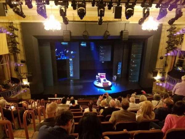 Music Box Theatre, section: Mezzanine C, row: K, seat: 113