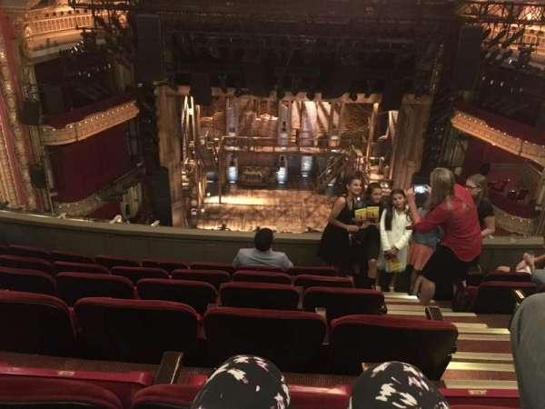 CIBC Theatre, section: Balcony LC, row: F, seat: 403
