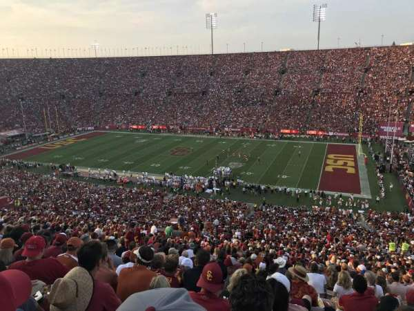 Los Angeles Memorial Coliseum, section: 4L, row: 78, seat: 20