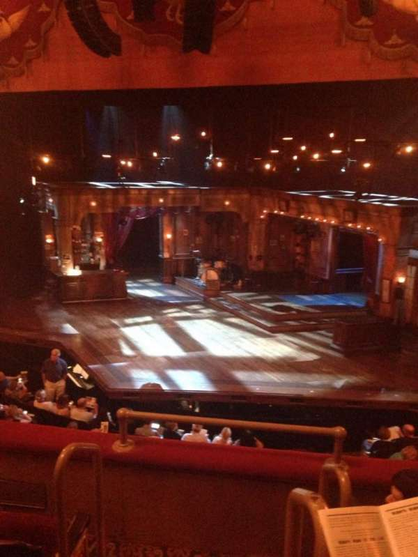 Bernard B. Jacobs Theatre, section: Mezz Right, row: D, seat: 2