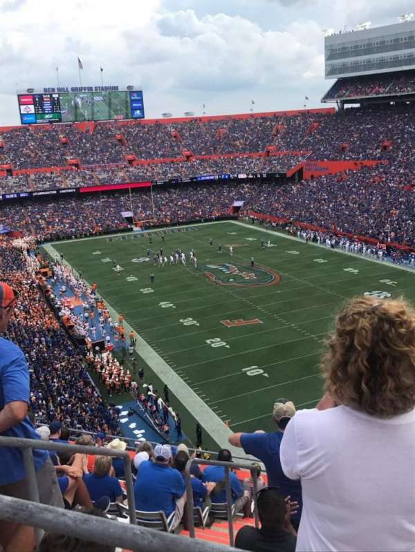 Ben Hill Griffin Stadium, section: 327, row: 29, seat: 1