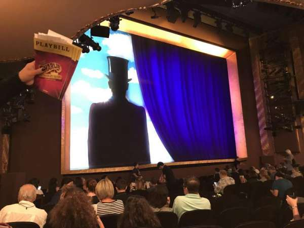Lunt-Fontanne theatre, section: Orchestra L, row: O, seat: 17