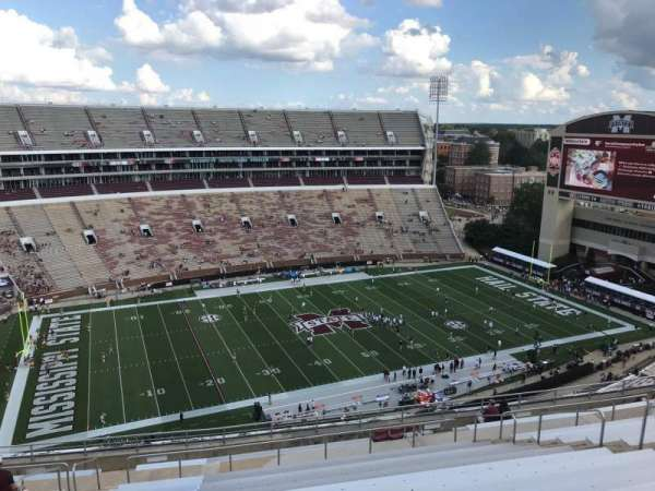 Davis Wade Stadium, section: 311, row: 17, seat: 15