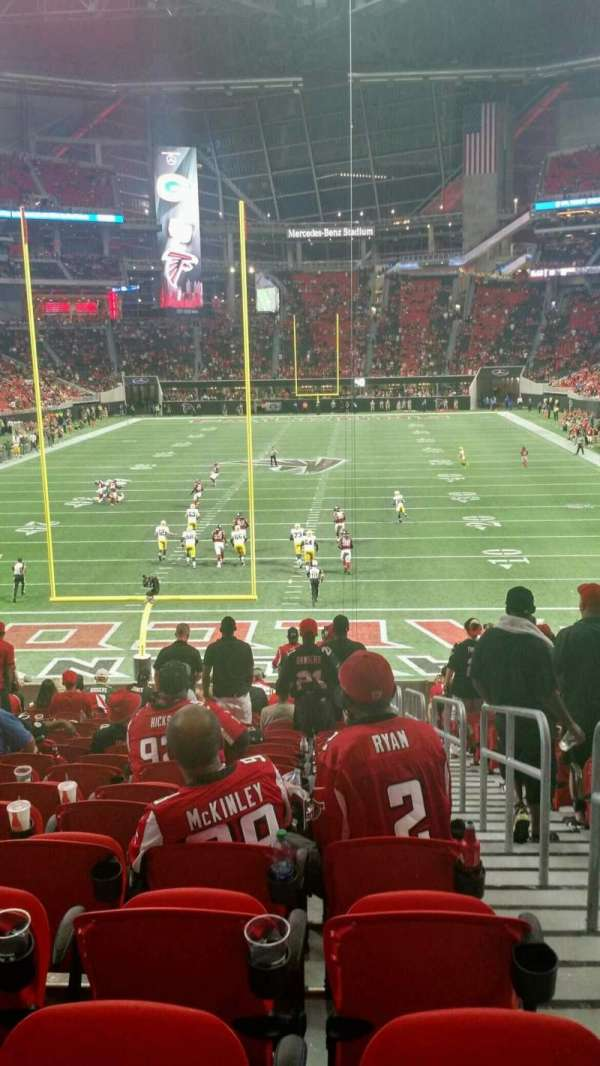 Mercedes-Benz Stadium, section: 119, row: 27, seat: 2