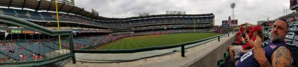 Angel Stadium, section: P236, row: A, seat: 1