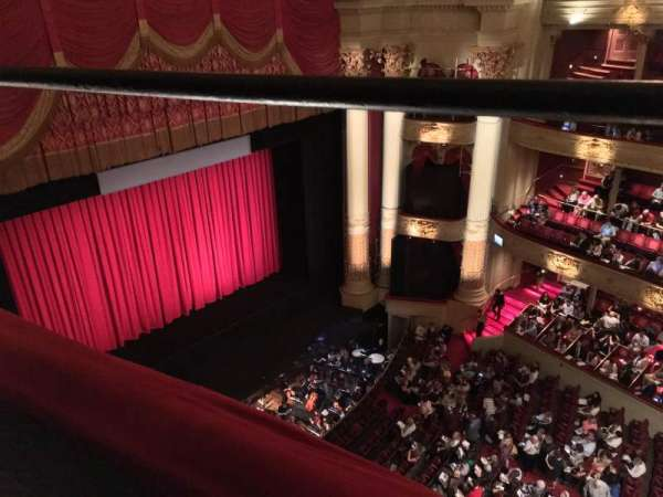 Academy of Music, section: Amphitheater H, row: A, seat: 37