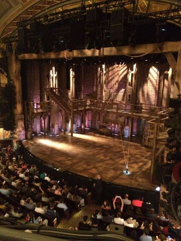 Richard Rodgers Theatre, section: Front Mezzanine R, row: A, seat: 22