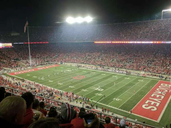 Ohio Stadium, section: 29C, row: 16, seat: 19