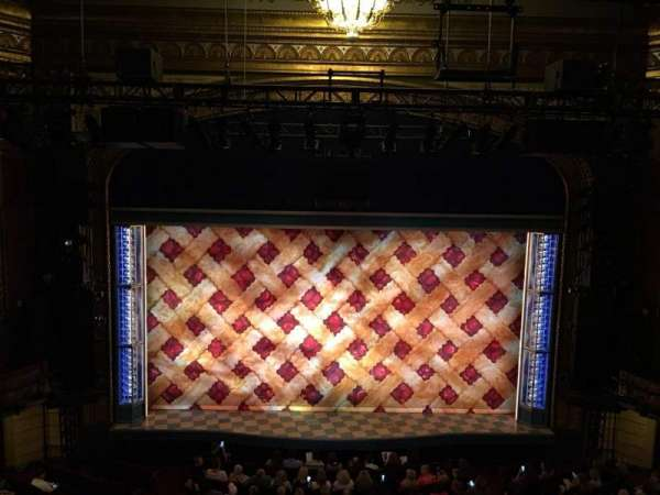 Brooks Atkinson Theatre, section: Rear Mezzanine LC, row: F, seat: 115