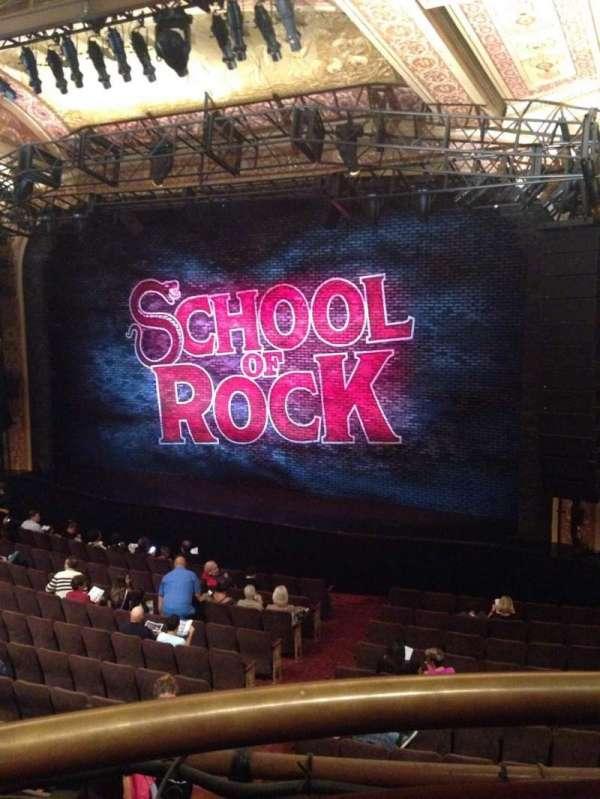Winter Garden Theatre, section: Mezzanine R, row: A, seat: 2