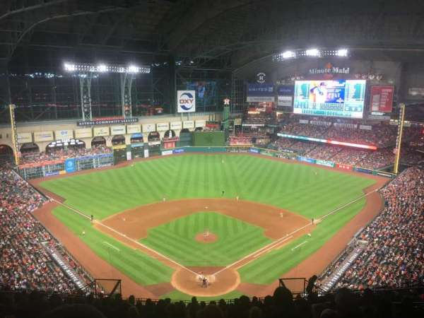 Minute Maid Park, section: 419, row: 15, seat: 10
