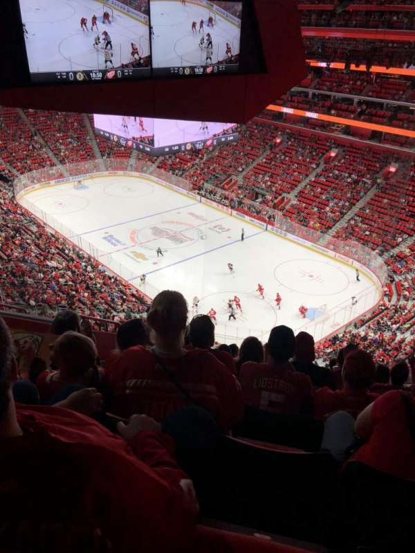 Little Caesars Arena, section: 207, row: 9, seat: 23