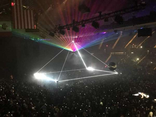 Nassau Veterans Memorial Coliseum, section: 219, row: 1, seat: 1 Asle