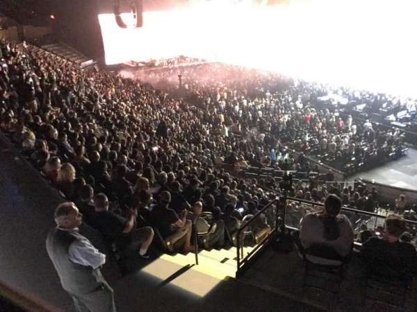 Madison Square Garden, section: 209, row: 2, seat: 7