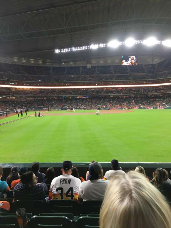 Minute Maid Park, section: 152, row: 7, seat: 17