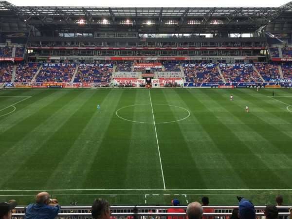 Red Bull Arena Section 126 Home Of New York Red Bulls
