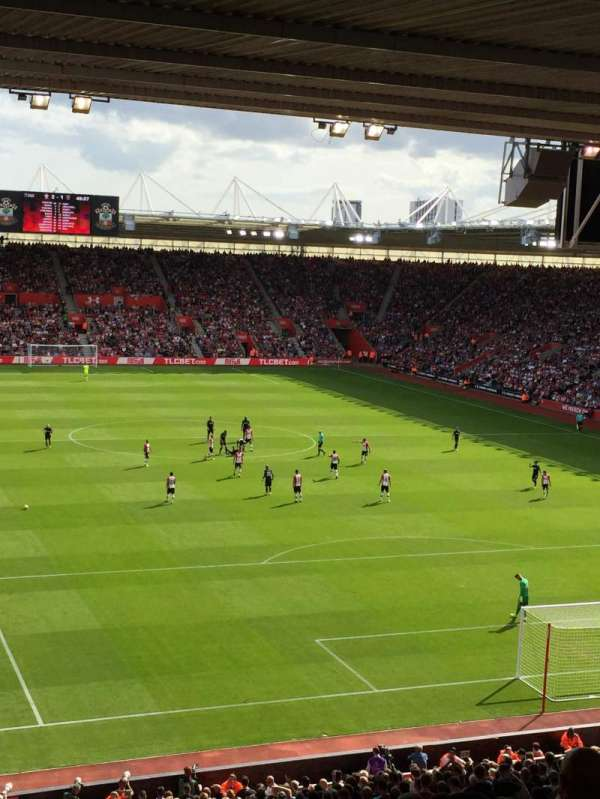 St Mary's Stadium, section: 45, row: OO, seat: 1173